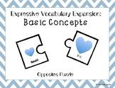 Expressive Vocabulary: Basic Concepts