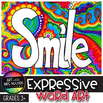 Art Lesson: Expressive Word Art