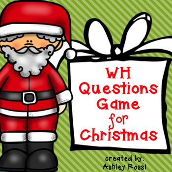 WH Questions For Christmas