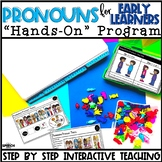 Pronouns Speech Therapy: Preschool Language Activities