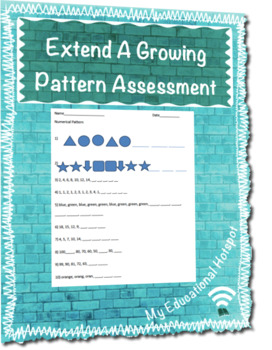 Extend A Growing Pattern Assessment