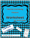 Extend A Growing Pattern Printable Worksheet