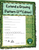 Extend a Growing Pattern Worksheet (2nd Edition)