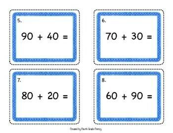 2 Digit Addition Quiz Quiz Trade Game