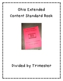 Extended Content Standards-Divided by Trimester Kindergart