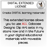 Extended DIGITAL Clip Art License