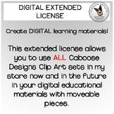 Extended DIGITAL Clip Art License