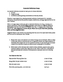 Extended Definition Essay