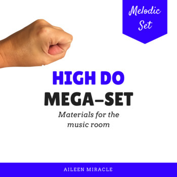 Songs, activities, and games to teach high do {Bundle}