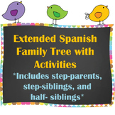 Extended Family Tree / Árbol Genealógico with Writing Activities
