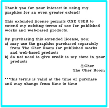 Extended License for Clipart