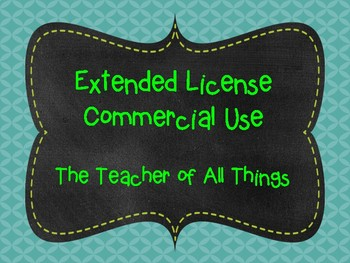 Extended License for Commercial Use.