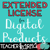 Extended License for Digital Products Includes Movable Pie