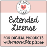 Extended License for Digital Products with Moveable Pieces