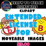 Extended License for Moveable Images (Ready to Teach Bilin