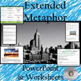 Extended Metaphor   -  PowerPoint and Worksheets
