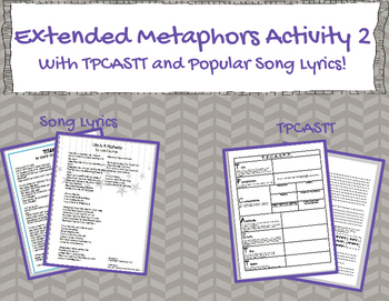 Extended Metaphor Using TPCASTT and Pop Music 2