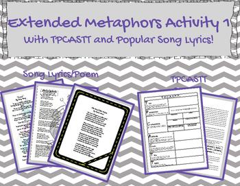 Extended Metaphor Using TPCASTT and Pop Music 1
