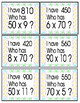 Extended Multiplication Facts Game Pack