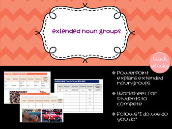 Extended Noun Groups- The Power of Adjectives/Describers