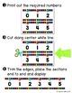 {Extended} Number Line (-30 - 215) - Bright & Black Vertic