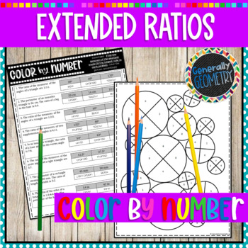Extended Ratios Color by Number; Geometry