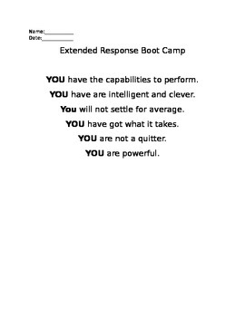 Extended Respone Bootcamp