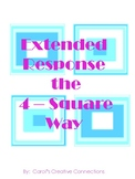 Extended Response the 4 Square Way