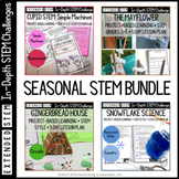 Extended Seasonal STEM Project-Based Learning Bundle for G