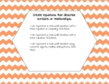 Extended Standards Math 9-12 I can statements