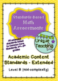 Extended Standards - Math Assessments