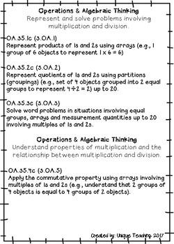 Extended Standards - Math Assessments (Low-Complexity)
