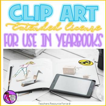 Extended clip art license - Yearbooks