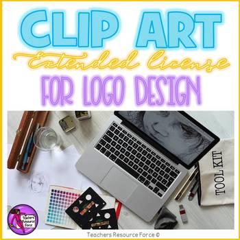 Extended clip art license - logo