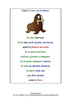 Extended reading texts in Italian