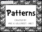 Extending & Growing Patterns in Math - Smart NOTEBOOK Lesson