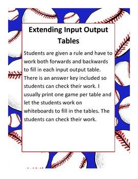 Extending Input Output Tables