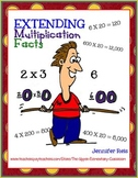 Extending Multiplication Facts-The Great Balancing Act of Adding Zeros Game/Lsn