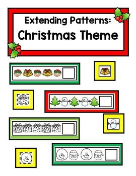 Extending Patterns - Christmas Theme