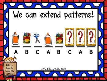Extending Patterns MOVE IT!