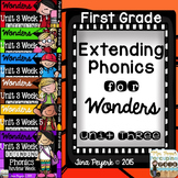 Extending Phonics with Wonders for First: Unit 3 Bundle