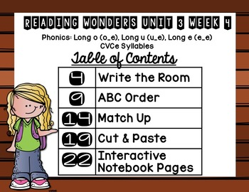 Extending Phonics with Wonders for First: Unit 3 Week 4