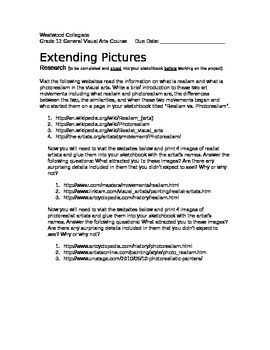 Extending Pictures