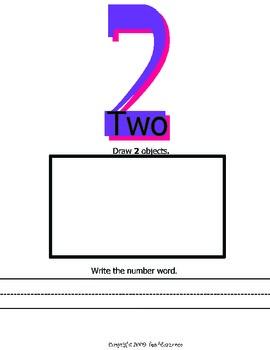 Extending the Sequence 1.NBT.A1 Math Printables