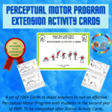 Extension Activity Cards for Perceptual Motor Programme