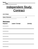 Extension & Enrichment Work Contract