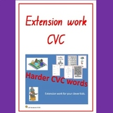 Extension work for CVC words