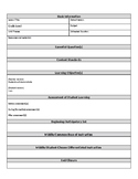 Extensive Daily Lesson Plan Template