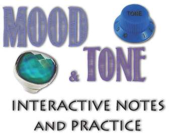 Extensive Mood and Tone PowerPoint