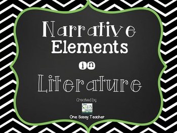 Extensive Pack of Literary Elements Posters for Upper Elementary - 3 designs!